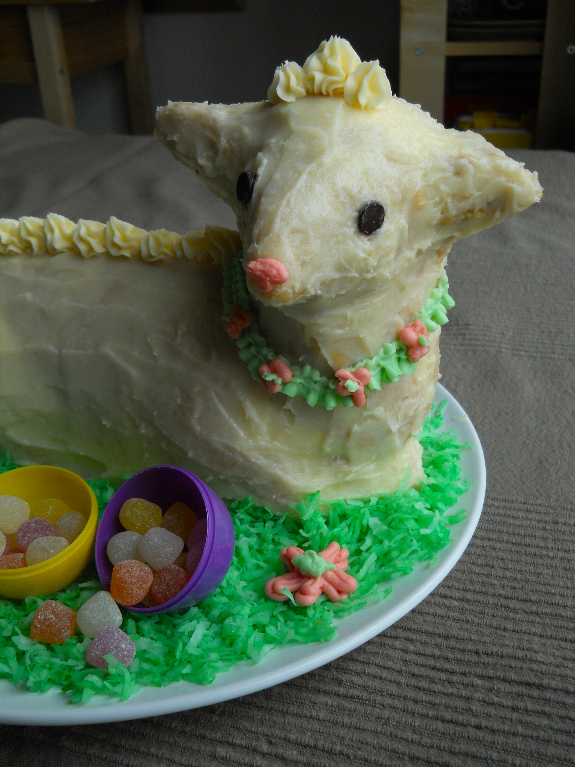 cake ii recipe easter lamb cake easter lamb cake lamb cake as well ...